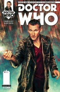 Doctor Who: The Ninth Doctor #1 (Cover by Alice X Zhang)