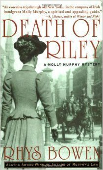"Cover of ""Death of Riley"" by Rhys Bowen"