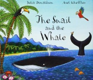 "Cover of ""The Snail and the Whale"""