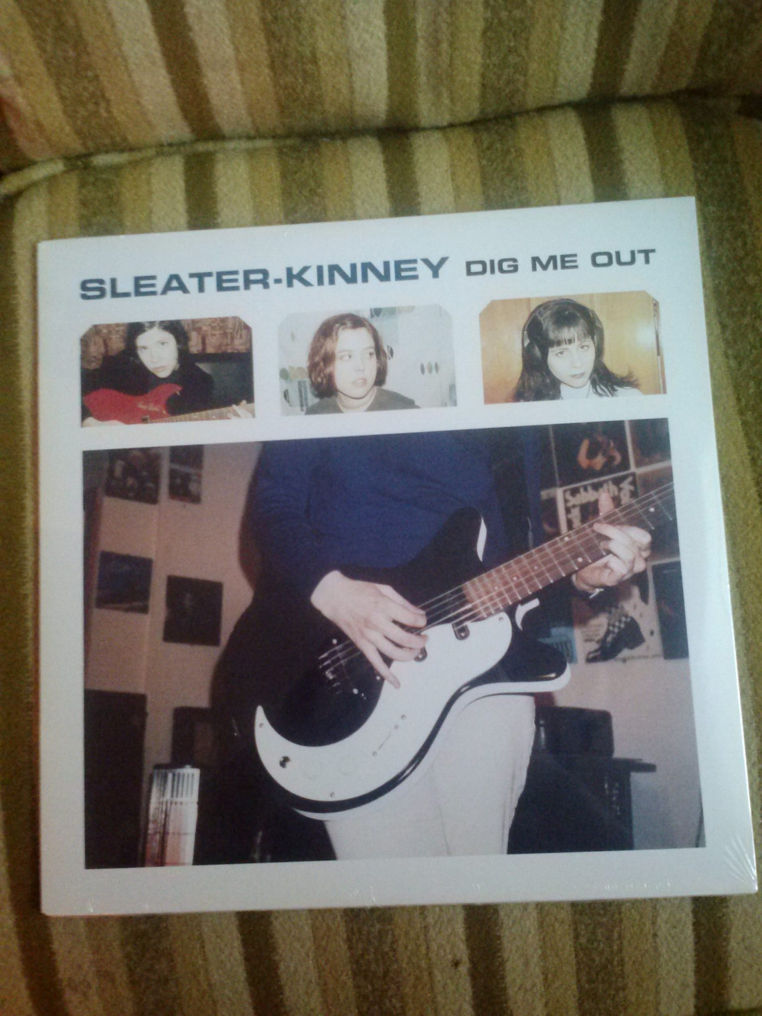 Record Machine Dig Me Out By Sleater Kinney Persephone