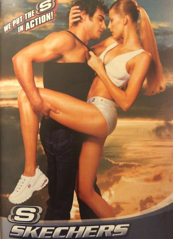 A Sketchers ad from 2004.
