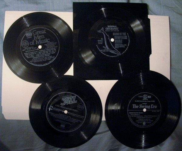 Collection of Flexi Discs