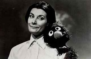 Jean Marsh with Grover