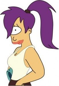 Leela from Futurama