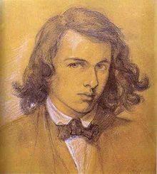 Dante Gabriel Rossetti, self-portrait