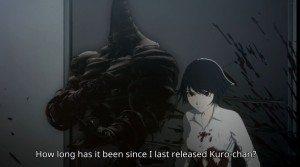 Izumi's black ghost